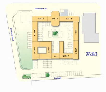Ridgeway court Layout Plan